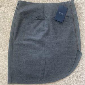 Grey Armani Jeans Skirt